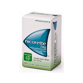 Nicorette 2 Mg 105 Chicles