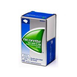 Nicorette Ice Mint 2 Mg105 Chicles