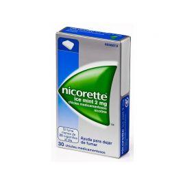 Nicorette Ice Mint 2 Mg 30 Chicles