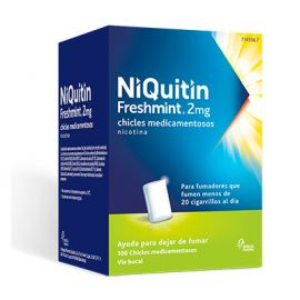 Niquitin Freshmint 2 Mg 100 Chicles