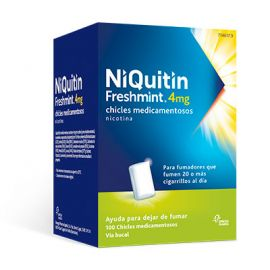 Niquitin Freshmint 4 Mg 100 Chicles
