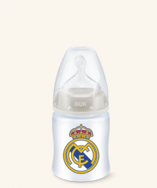 Nuk Biberón Real Madrid Talla M Silicona 0-6 Meses