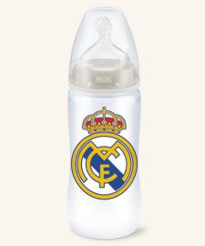 Nuk Biberón Real Madrid Talla L Silicona 6-18 Meses