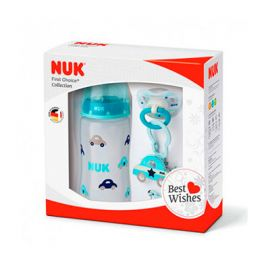 Nuk First Choice Biberón 300Ml + Chupete 0-6Meses