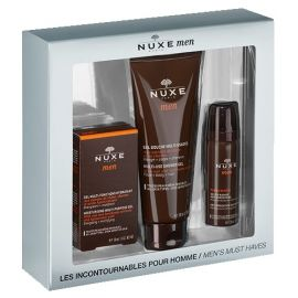 Nuxe Men Cofre Gel Multifunción 50 Ml+ Gel de Ducha 200 Ml + Gel Afeitar 35 Ml