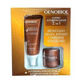 Oenobiol Coffret Autobronceador 2 en 1 Cápsulas y Crema