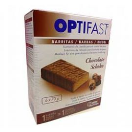 Optifast Barritas Chocolate 6 Un.