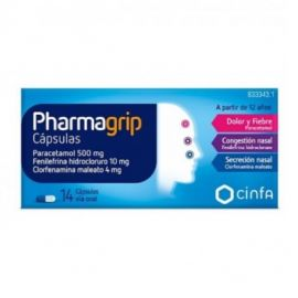 Pharmagrip 14 Cápsulas