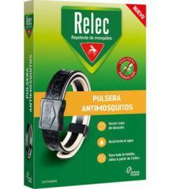 Relec Pulsera Antimosquitos Adultos Negra