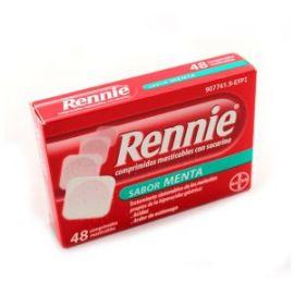 Rennie Sabor Menta 48 Comprimidos