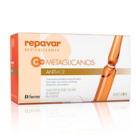 Repavar Metaglicanos Antiage 30 Ampollas