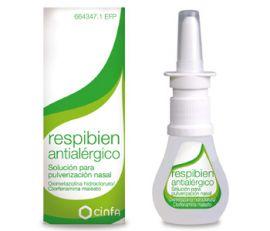 Respibien Antialérgico Solución Pulverizaión Nasal 15 Ml