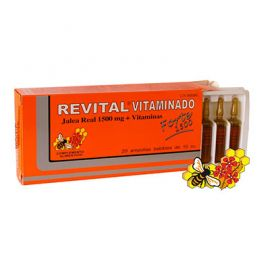 Revital Vitaminado Forte 1500 Mg 20 Ampollas Bebibles