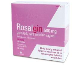 Rosalgin 500 Mg Granulado para Solución Vaginal 20 Sobres