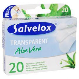 Salvelox Apósito transparente Aloe Vera 20 Unidades