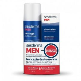 Sesderma Men Gel de Afeitado 200 Ml + Bálsamo After Shave 100 Ml