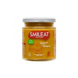 Smileat Tarrito De Ternera Con Verduras Ecológico 230 Gr