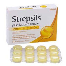 Strepsils Miel-Limon 24 Pastillas