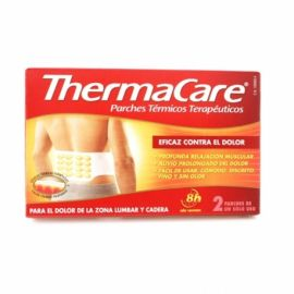 Thermacare Zona Lumbar y Cadera 2 Parches Térmicos
