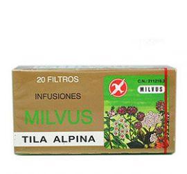 Tila Alpina Milvus 20 Bolsas