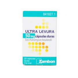 Ultra Levura 50 Mg 20 Cápsulas
