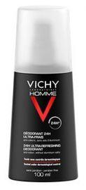 Vichy Homme Desodorante Spray Ultra Fresco 100 Ml