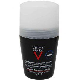Vichy Homme Desodorante Roll-On Pieles Sensible 48H 50 Ml