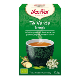 Yogi Tea Té Verde Energía 17 Bolsitas