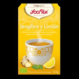 Yogi Tea Jengibre y Limón 17 Bolsitas