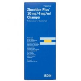 Zincation Plus 10 Mg/ 4 Mg / ml Champú 200 Ml