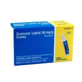 Zovicrem Labial 50 Mg/g Bomba Dosificadora 2 Gr